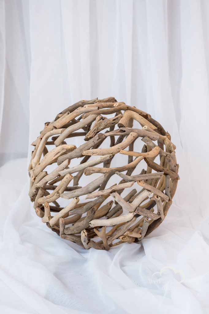 Ornamental Ball of Twigs