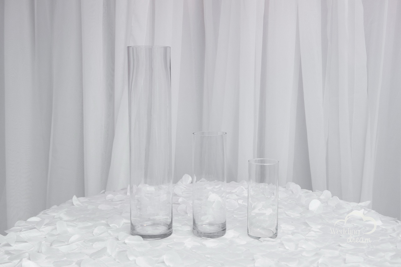 Cylinder Vases in Assorted Sizes