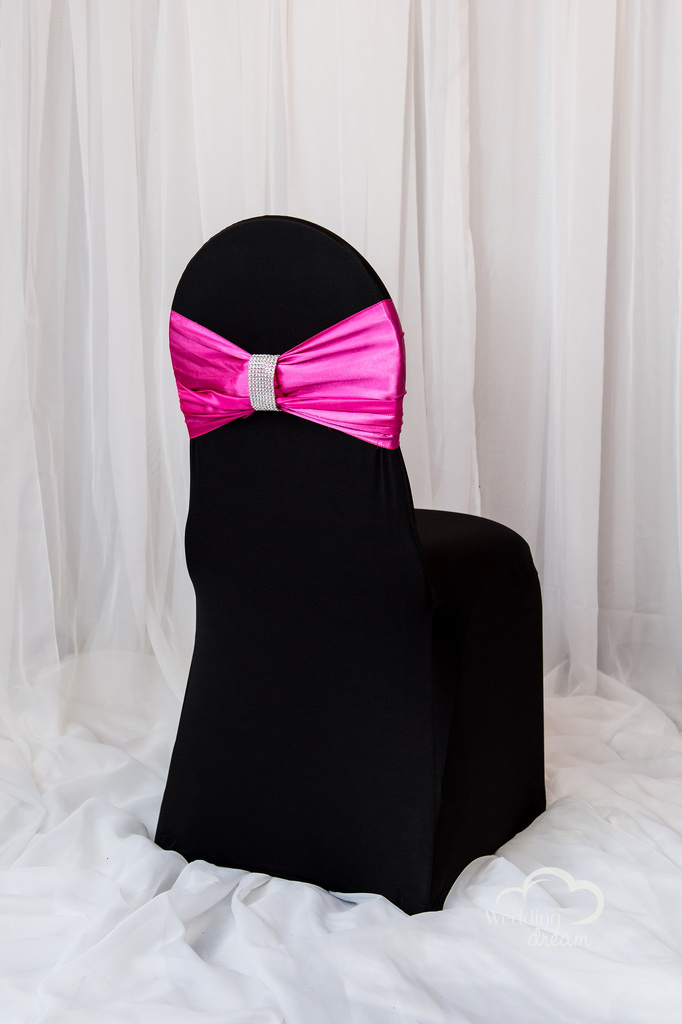 Magenta Chair Bling Wrap