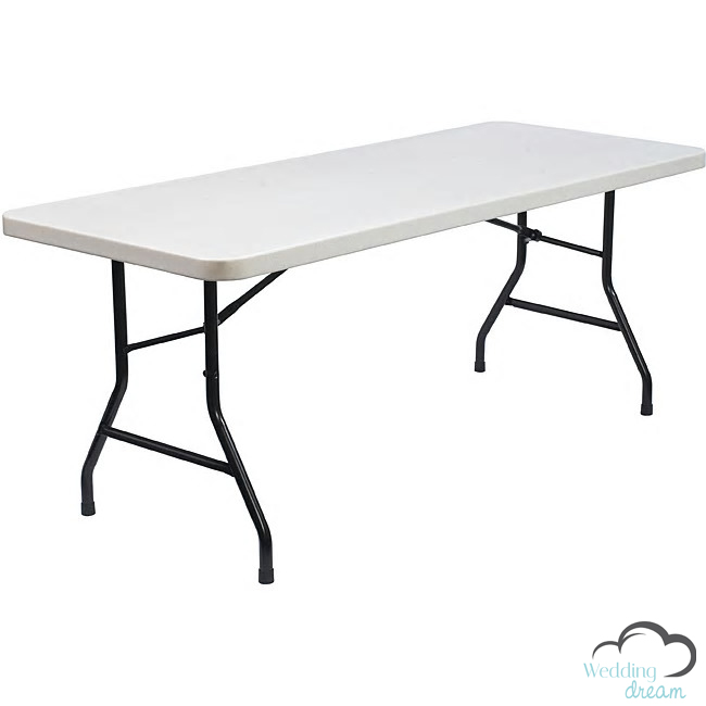 6 Feet Rectangle Table