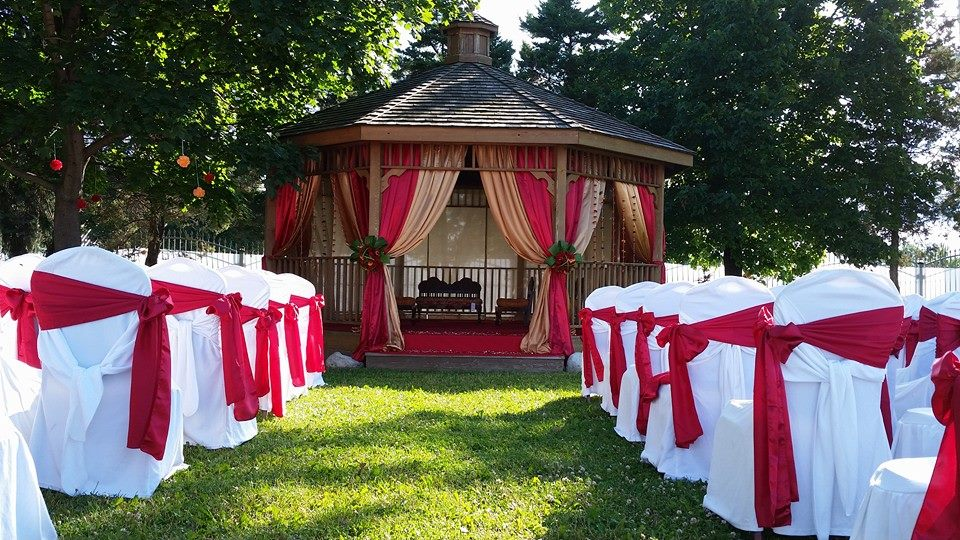 wedding decor gazebo kitchener waterloo outdoor ceremony