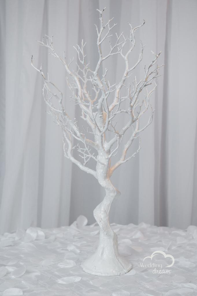 36'' White Manzanita Tree Centrepiece