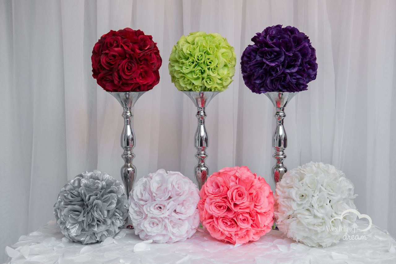 Flower Balls in Assorted Colours