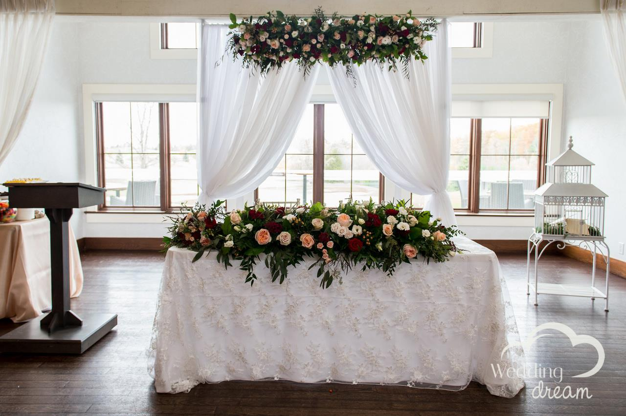 whistlebear golf club wedding decor kitchener cambridge dream