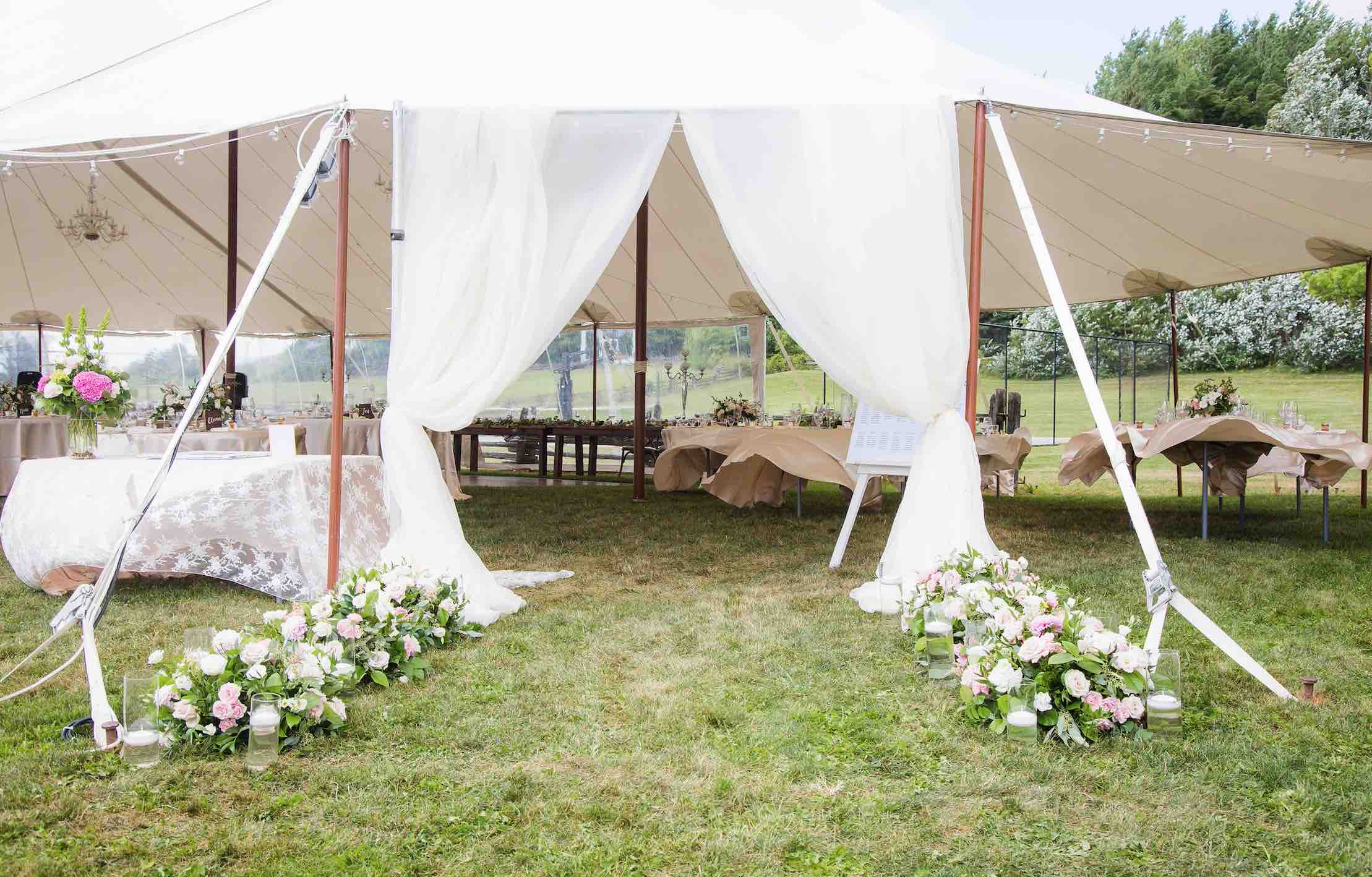 reception backyard wedding dream kitchener waterloo