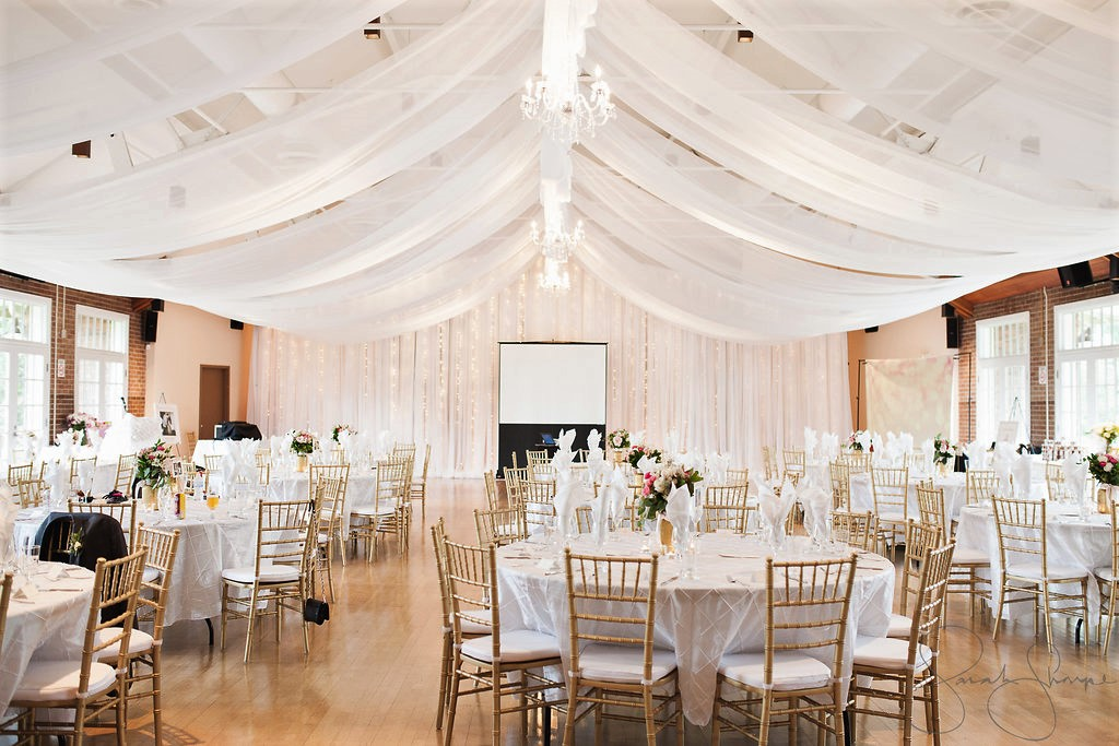 Victoria Park Pavillion Wedding Decor Elegant