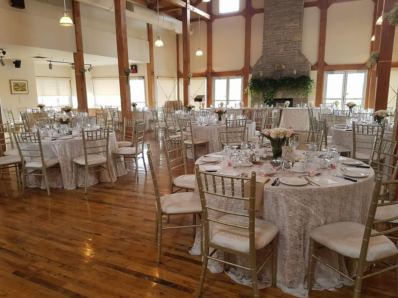 gray silo wedding decor waterloo