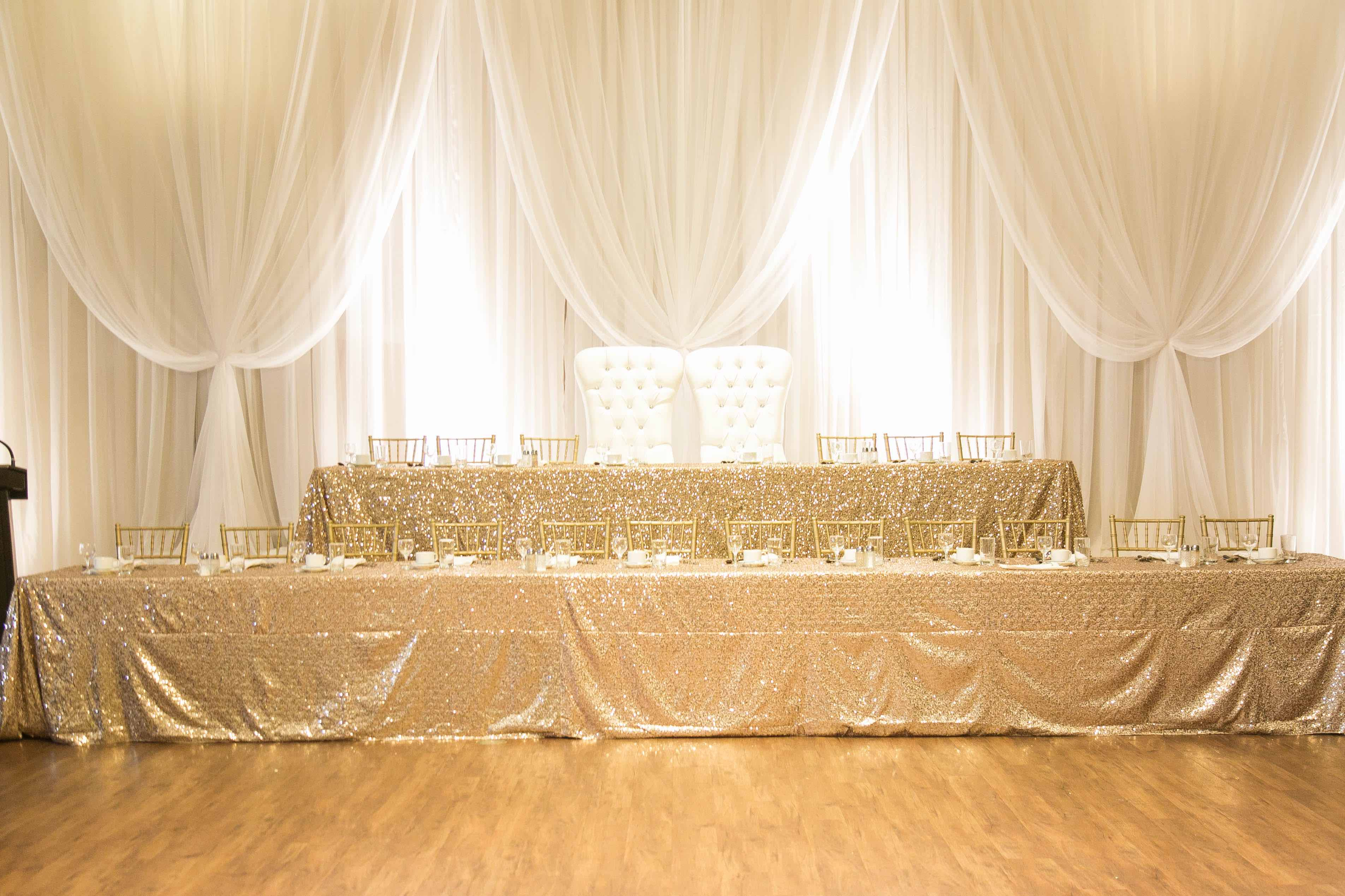 wedding decor gold royal decor kitchener waterloo