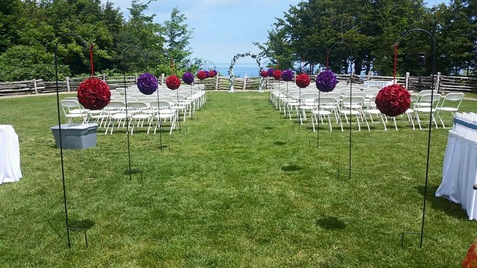 outdoor wedding decor lake ceremony dream weddings