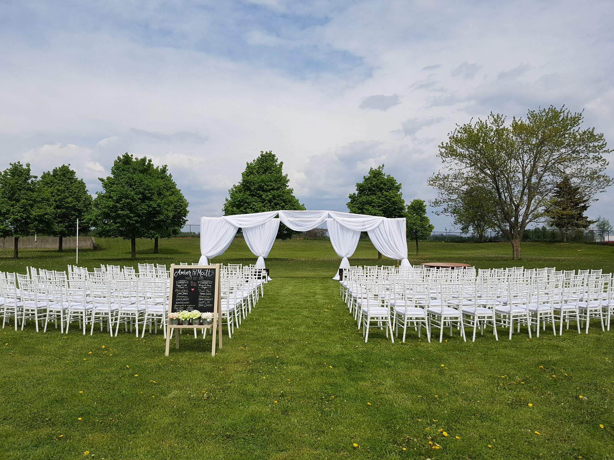 outdoor wedding whistlebear kitchener cambridge wedding dream decor