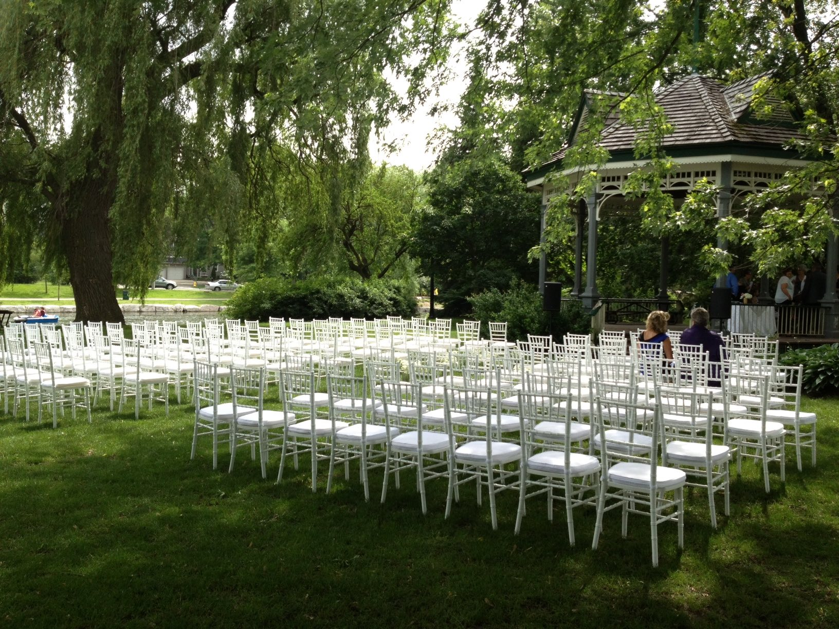 victoria park kitchener outdoor wedding ceremony pavillion park wedding dream decor