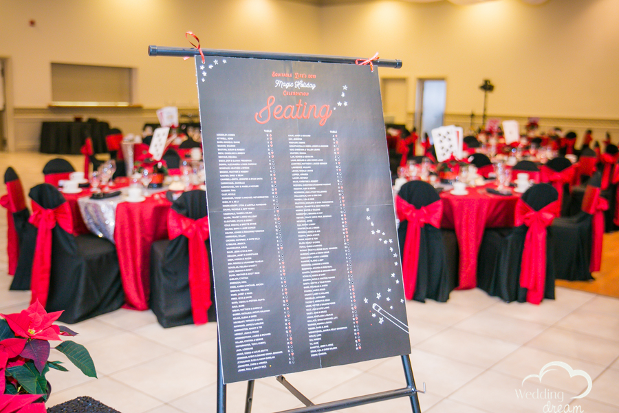seating chart themed wedding kitchener waterloo croatian hall