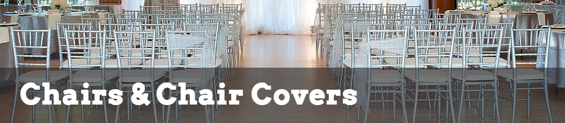 chairs and chair covers rentals